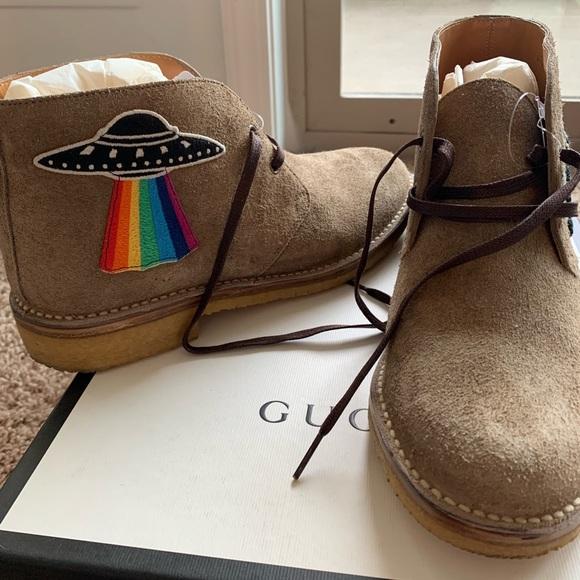 b3af6a26e Gucci Shoes | Moreau Suede Chukka Boots Us8 | Poshmark
